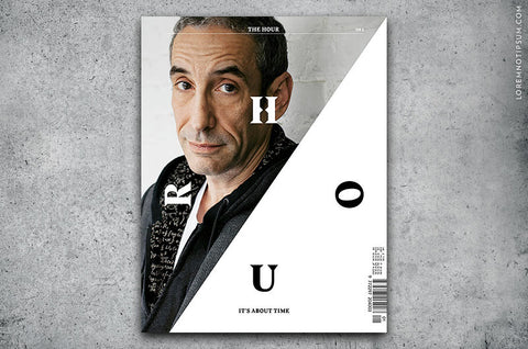 The Hour Magazine Issue 1 - Bestellen bei LOREM (not Ipsum) - Bern (Schweiz)