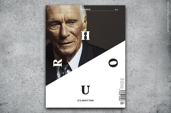 The Hour Magazine Issue 2 - Bestellen bei LOREM (not Ipsum) in Zürich (Schweiz)