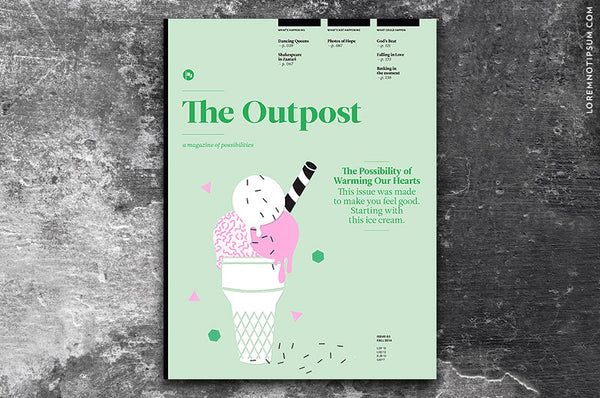 The Outpost Issue 5 bei LOREM (not Ipsum) in Bern (Schweiz)