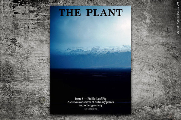 The Plant Journal Issue 8 - Bestellen bei LOREM (not Ipsum) in Zürich (Schweiz)