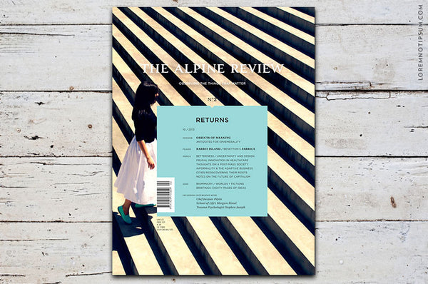The Alpine Review Issue 2 - Bestellen bei LOREM (not Ipsum) - Bern (Schweiz)