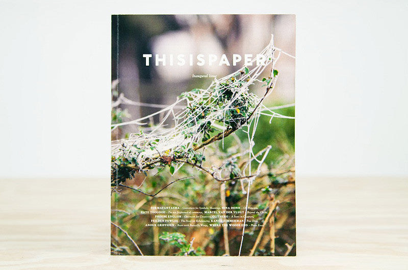This is Paper Issue 1 - Bestellen bei LOREM (not Ipsum) - Bern (Schweiz)