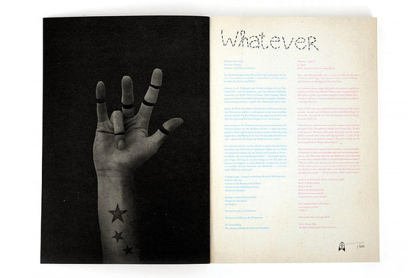 Whatever Magazin #4 - In Black