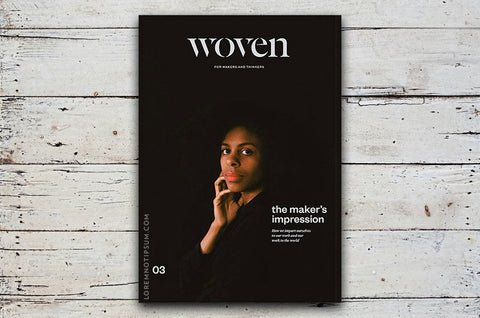 Woven Magazine Issue 3 – Bestellen bei LOREM (not Ipsum) in Zürich (Schweiz)