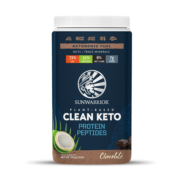 Sunwarrior Clean Keto Chocolate 720 Gr