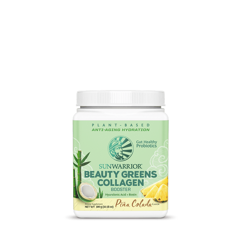 Sunwarrior Beauty Greens Collagen Booster front