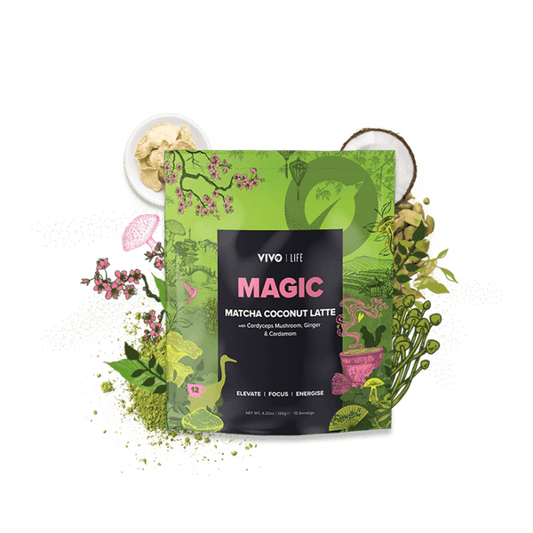 Vivo Life Magic MATCHA COCONUT LATTE 120g