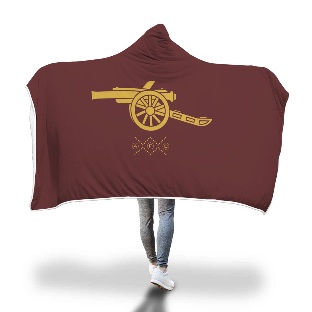 Arsenal British Football Team Hooded Blanket