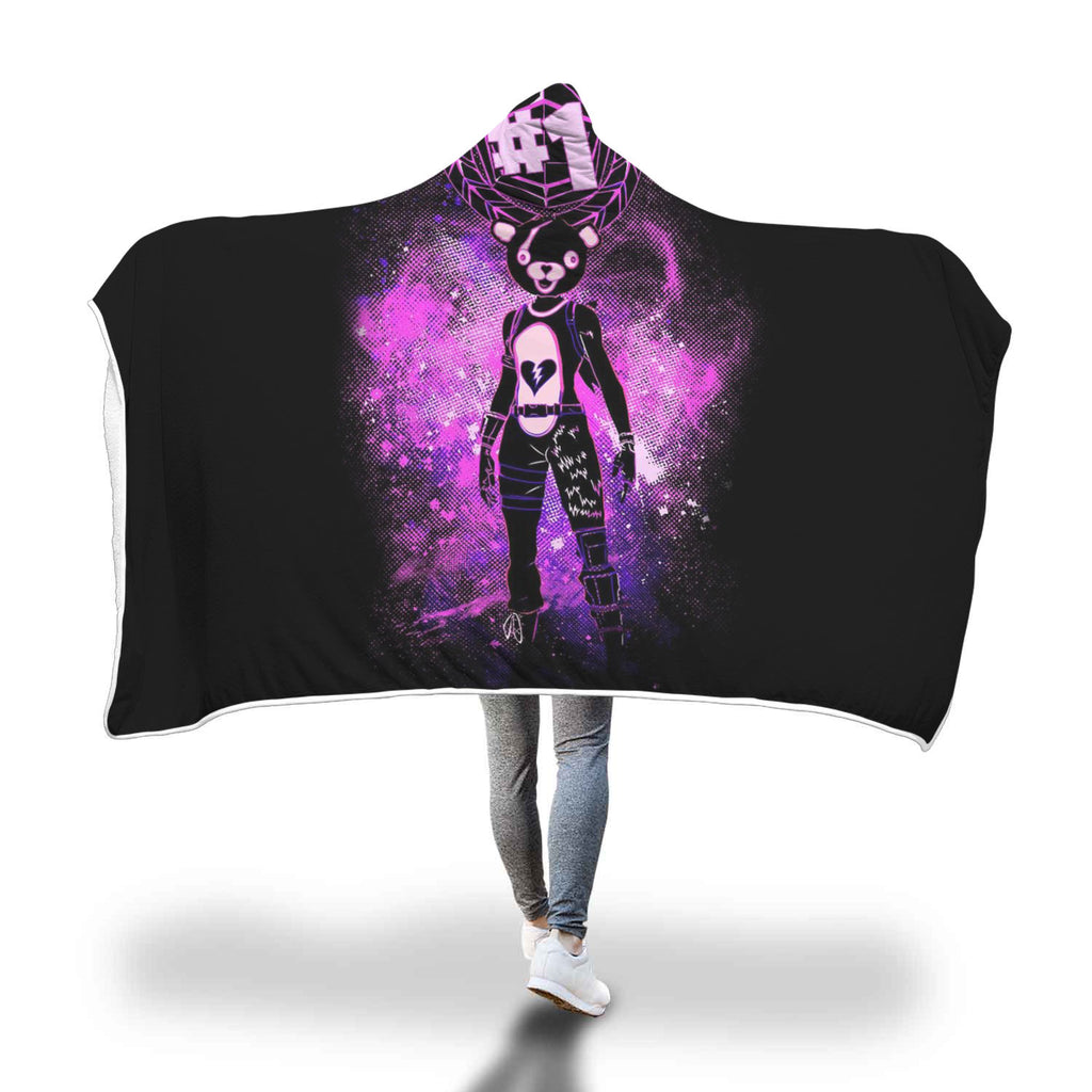 Fortnite Blanket Hooded