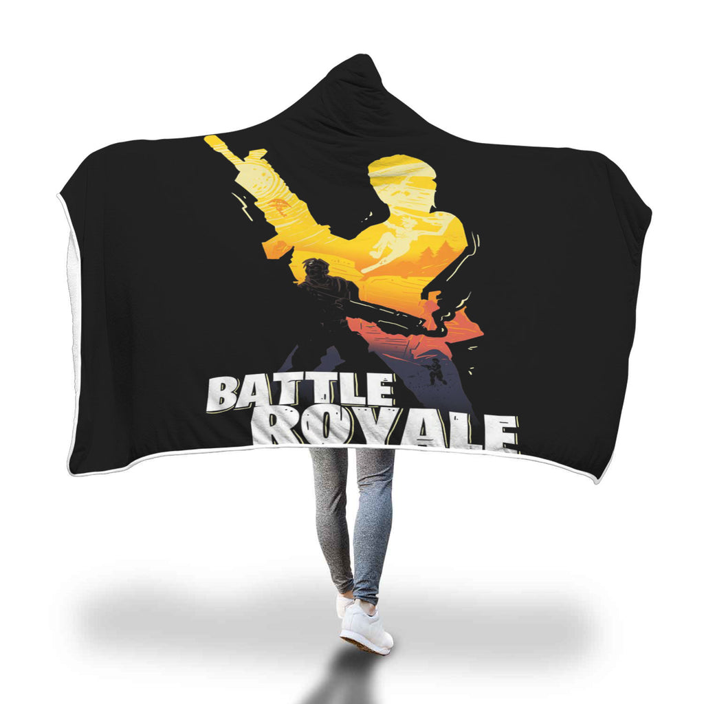 Fortnite Hooded Blanket Battle Royale