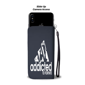Fortnite Addicted Fortnite Wallet Phone Case