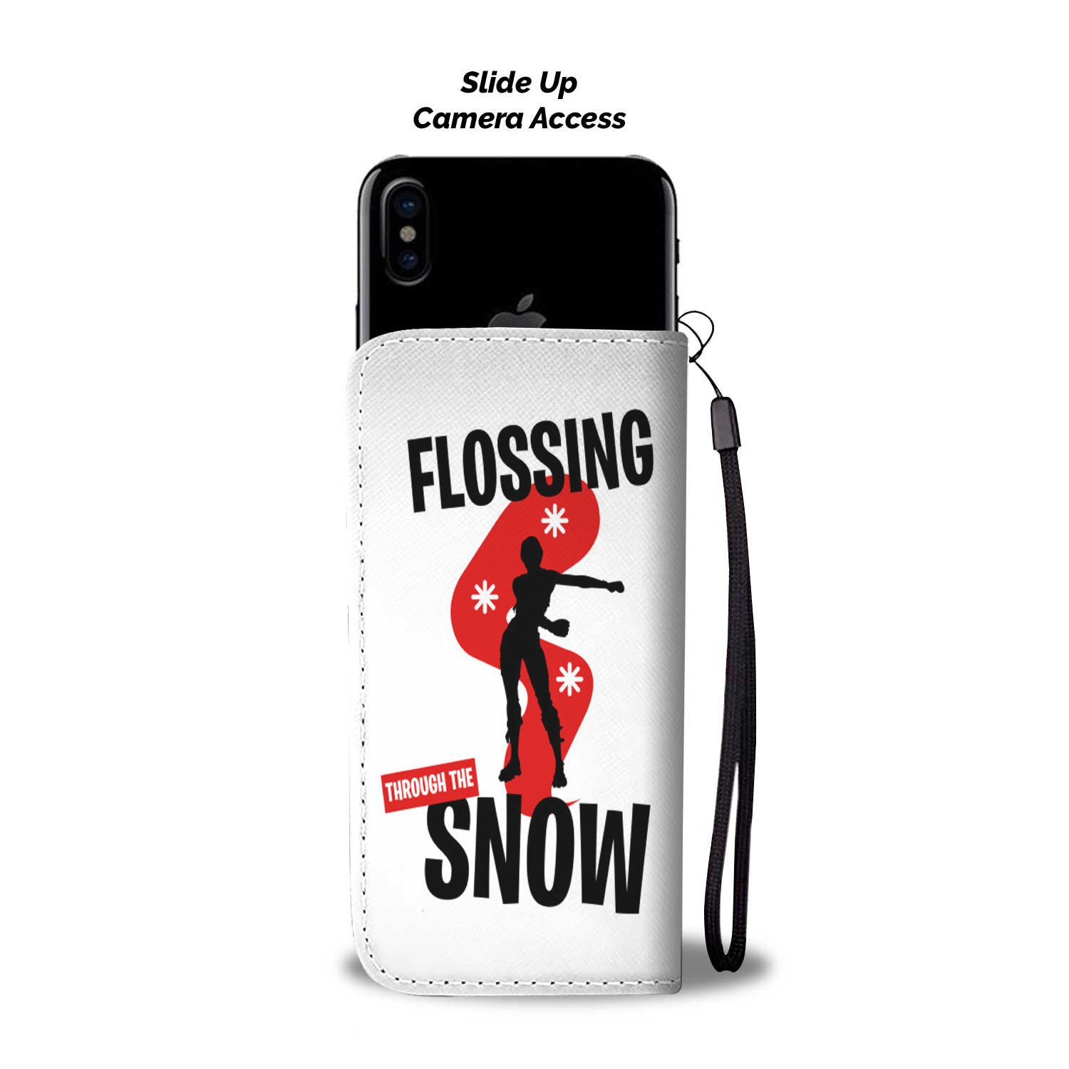 Fortnite Wallet Phone Case Flossing Snow