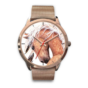 Horse Lover Rose Gold Watch