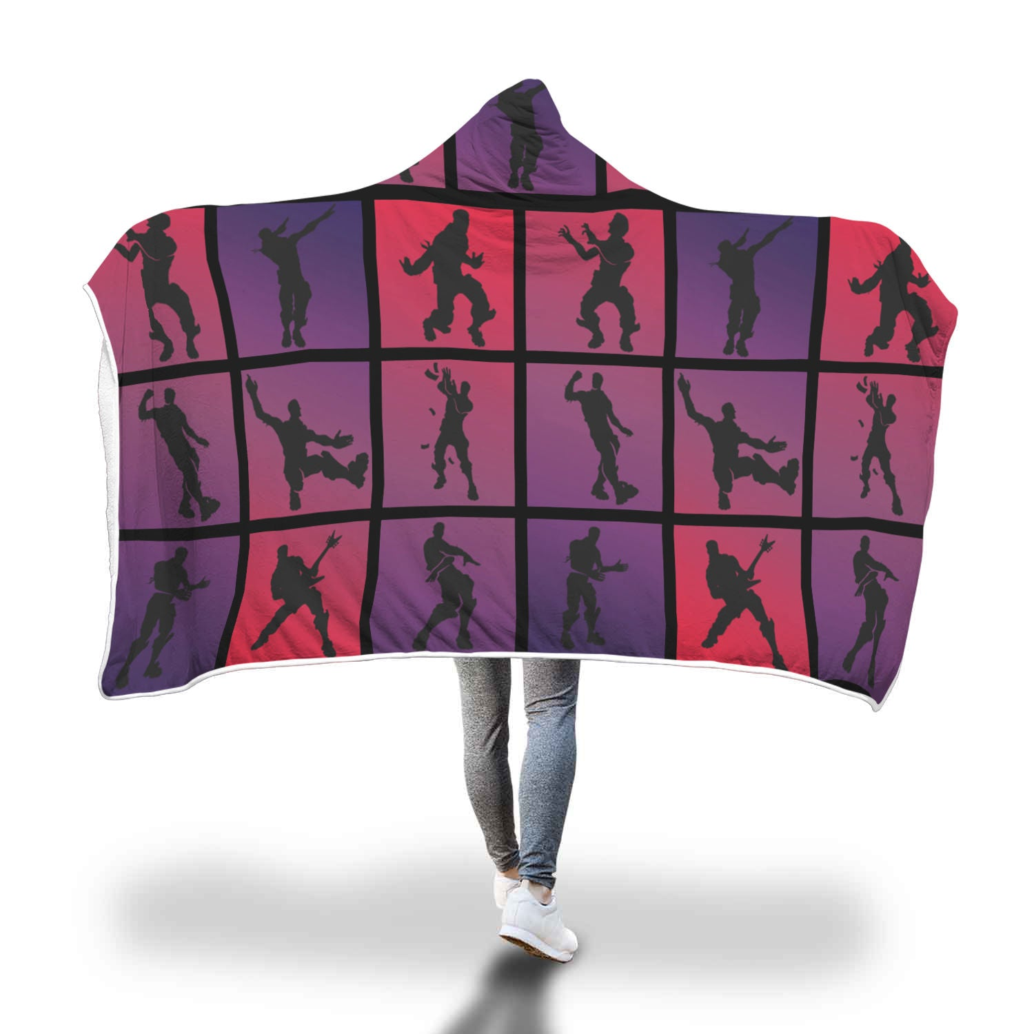 Fortnite Blanket Hooded Emojis