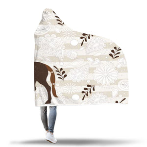 Hooded Brown Horse Blanket