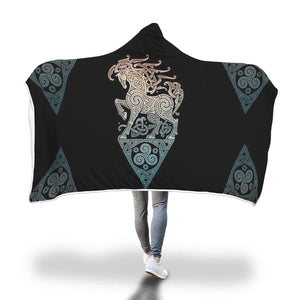 Power Horse Hooded Blanket