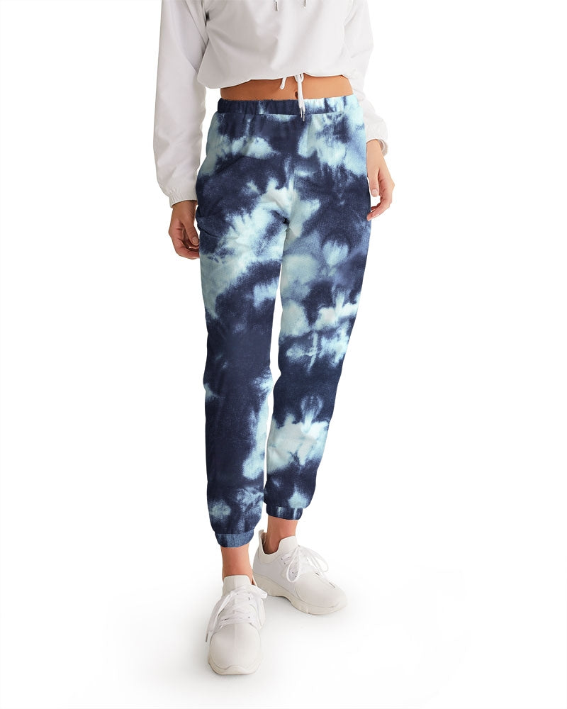Tie Dye  dark blue Women's Track Pants