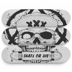 Skateboard Wall Art Decor Skate Our Die Set Of 3