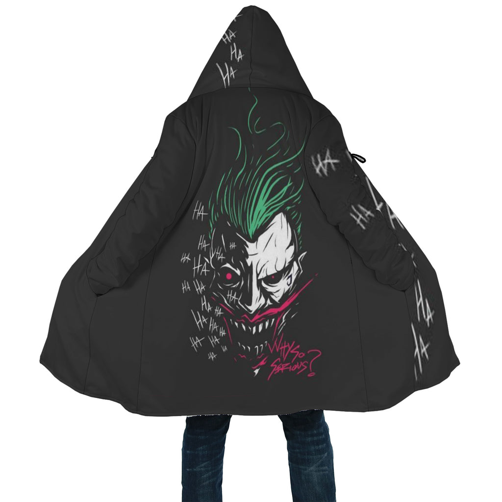 Joker Cloak Why So Serious