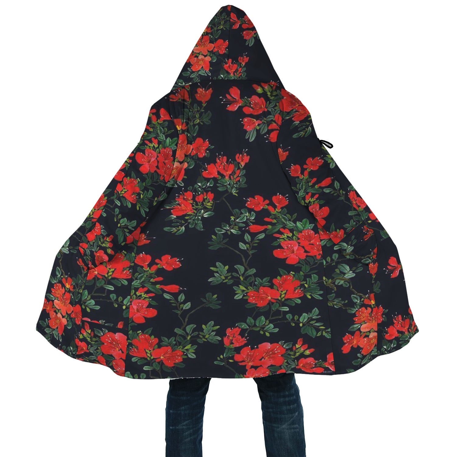 Red Flower Cloak