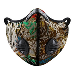New Graffiti Face Mouth Mask Outdoor Protective Mask