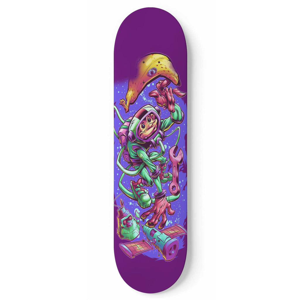 SPACE MONKEY 1 Skateboard Wall Art