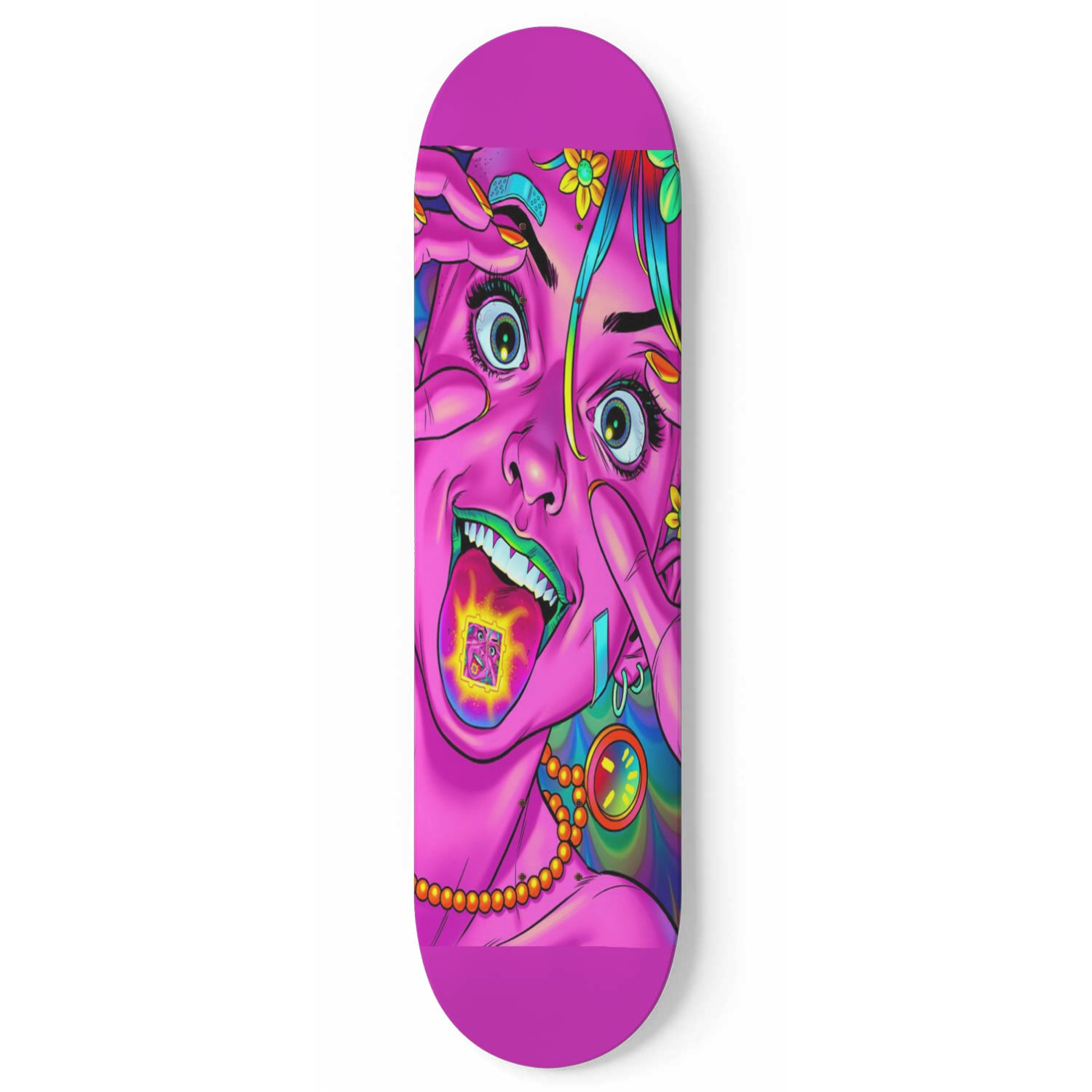 Tank Girl Trip Skateboard Wall Art