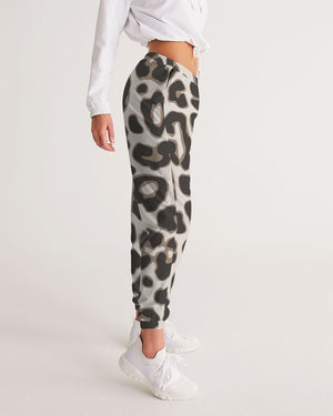 Leopard Brown Women's Track Pants