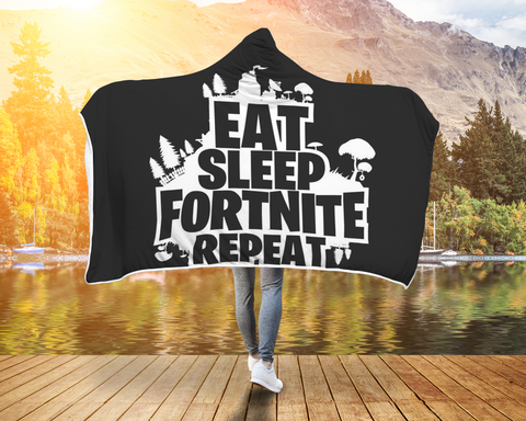 Fortnite Blanket Eat Sleep