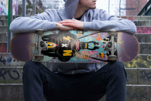 Third Eye Rah Skateboard Wall Art