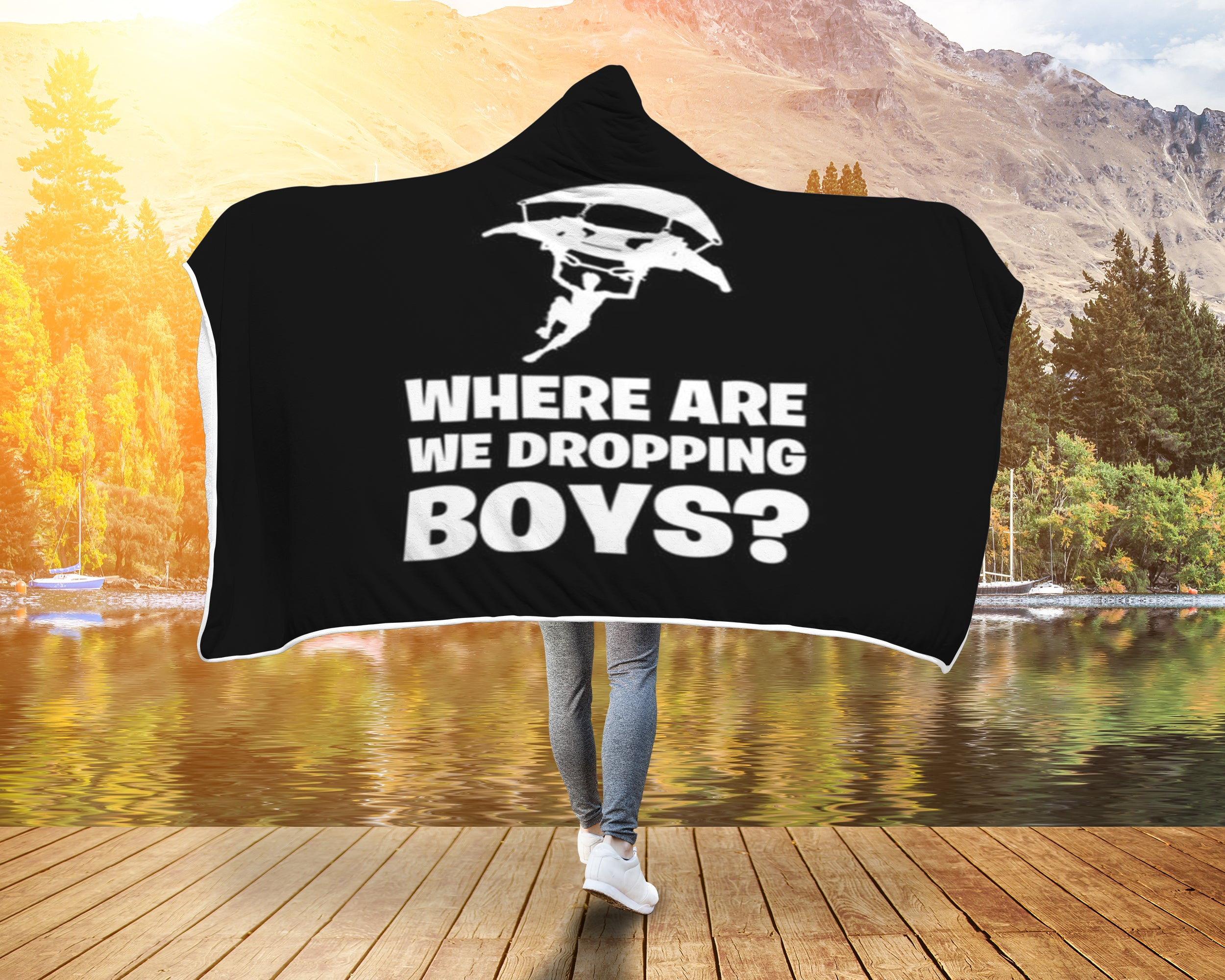 Fortnite Blanket Where are we dropping boys?