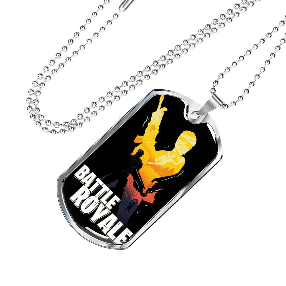 Fortnite Necklace Battle Royale Dog Tag