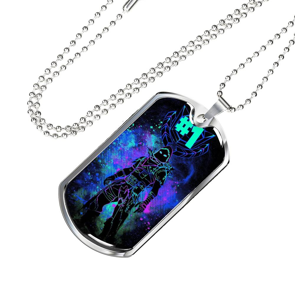 Fortnite Raven Dog Tag