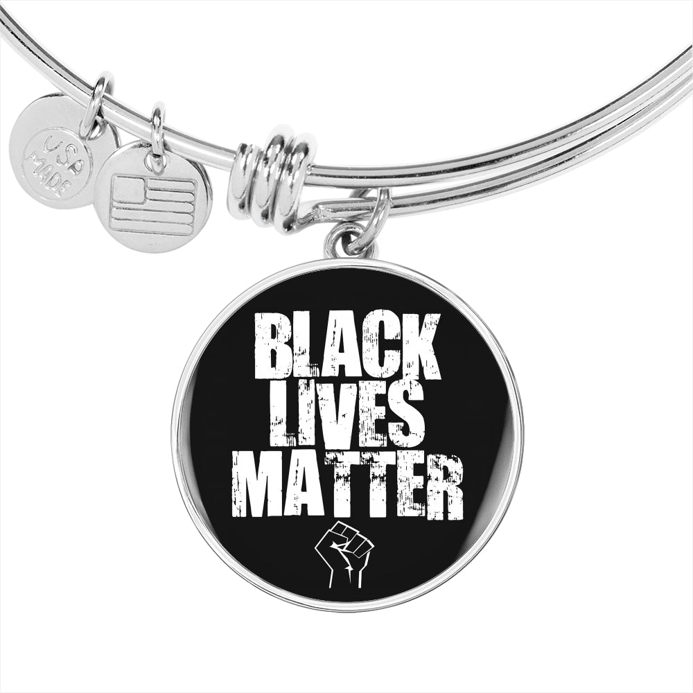 Black Life Matters Adjustable Luxury Bangle