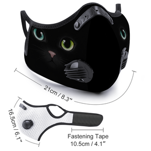 Cat Face Mouth Mask Outdoor Protective Mask