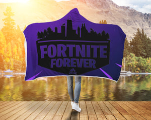 Fortnite Hoodie Hooded Blanket Forever