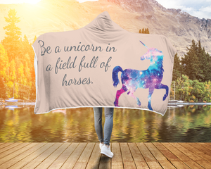 Horse Blanket Be a unicorn