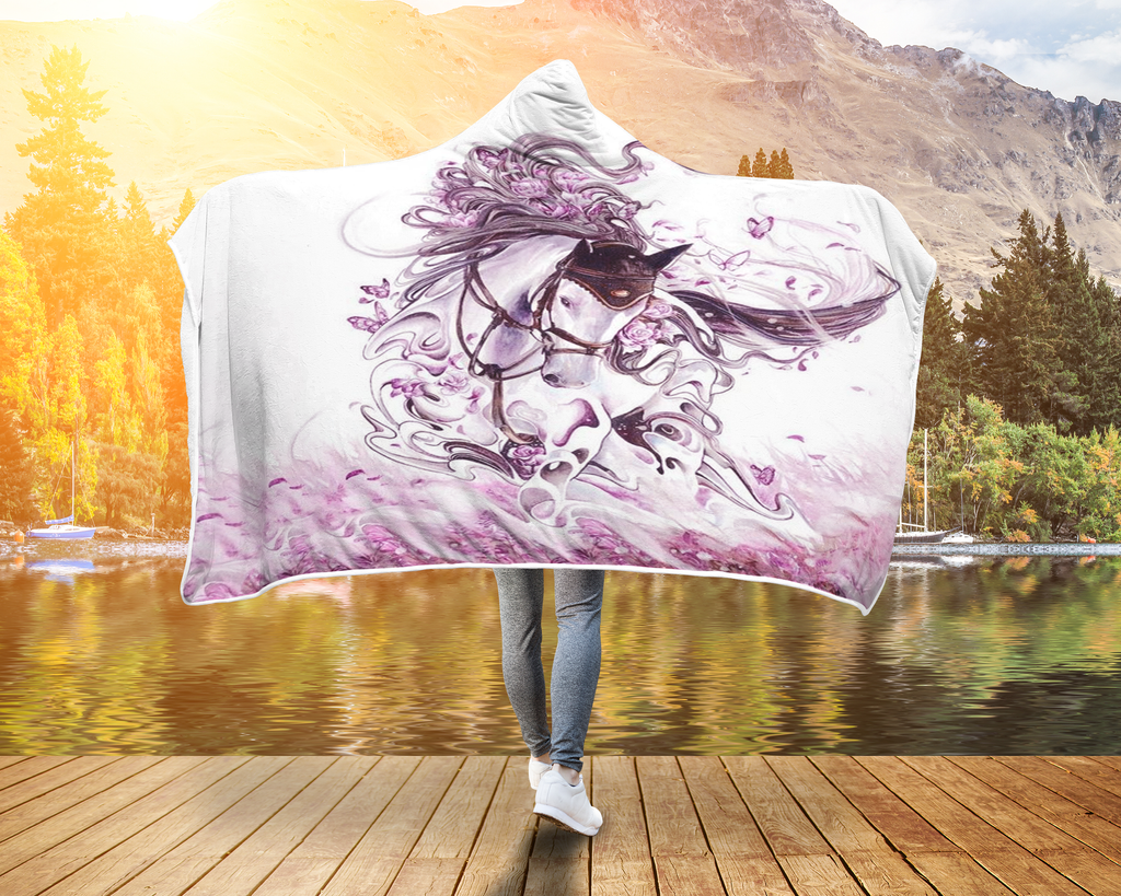 Pink Horse Blanket Gift for Horse Lover
