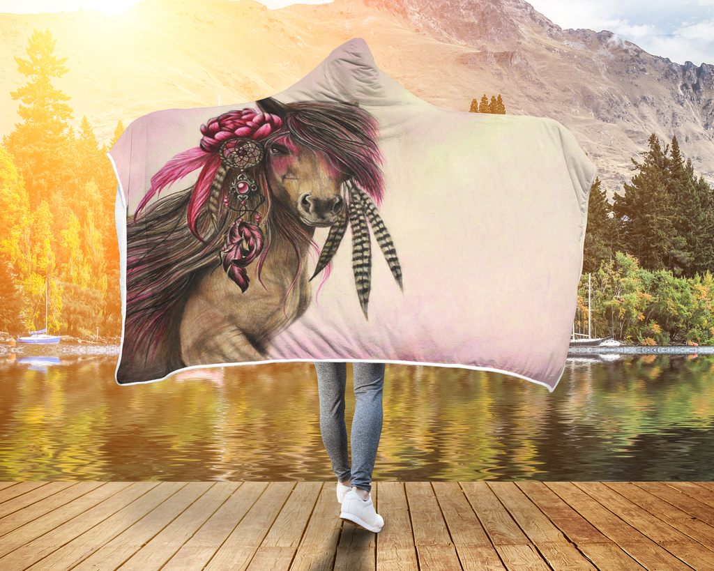 Hooded Horse Blanket for best Riders