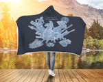 Popular Game Hoodie Hooded Blanket Key TO Victory