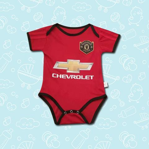 Manchester United BABY KIT BODYSUIT 19-20 HOME KIT
