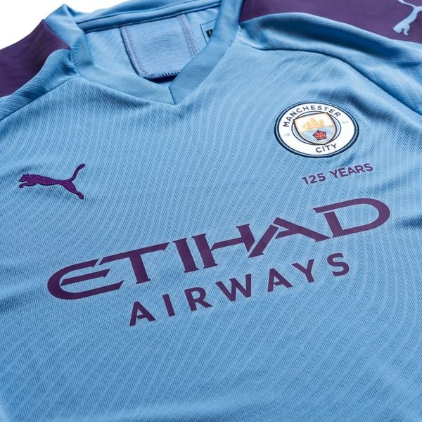 Manchester City Home Shirt Blue 2019/20