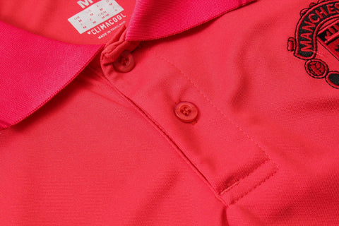 Image of Manchester United Training Polo - Red