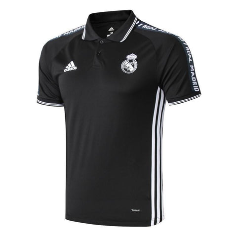 19-20 REAL MADRID Crest Polo training - Black