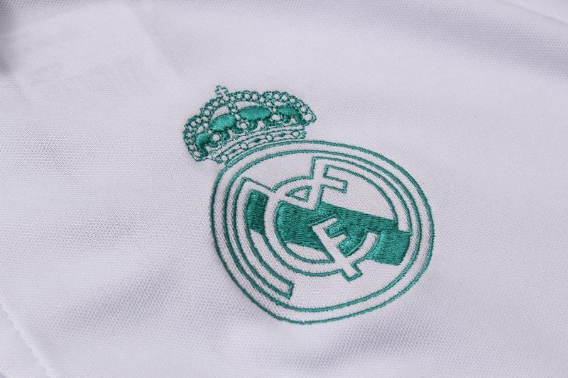 18-19 REAL MADRID Crest Polo training - White
