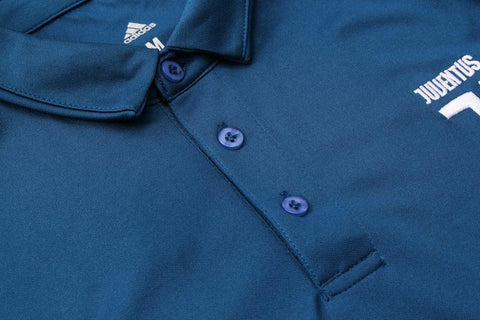 JUVENTUS 18-19 Crest Polo Training - Blue