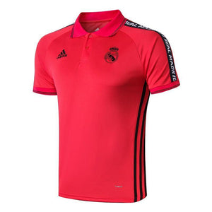 18-19 REAL MADRID Crest Polo training - Red