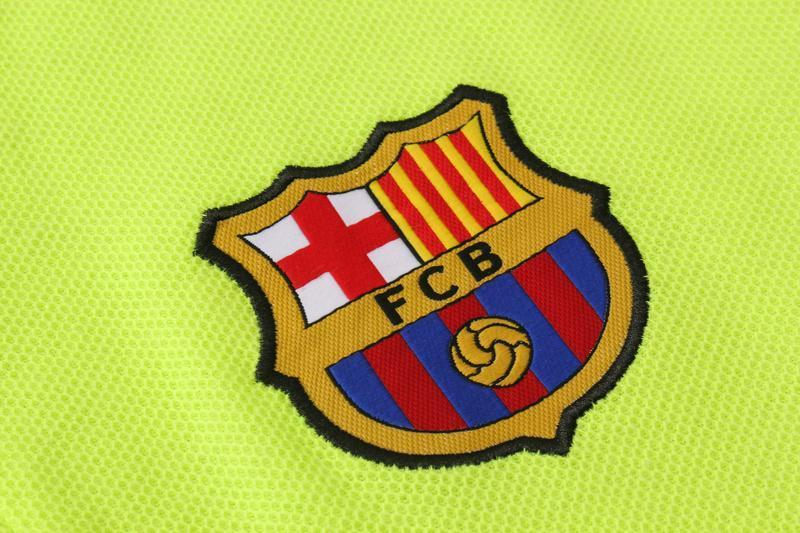 FC Barcelona 18-19  Crest Polo training - Green