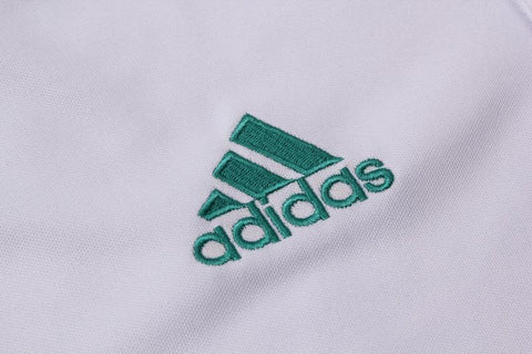 Image of 18-19 REAL MADRID Crest Polo training - White