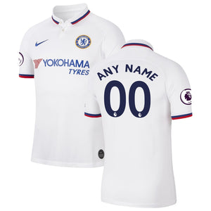 Chelsea Nike 2019/20 Away Breathe Stadium Custom Jersey - White